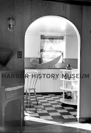 Kitchen of Herb Shuey's residence