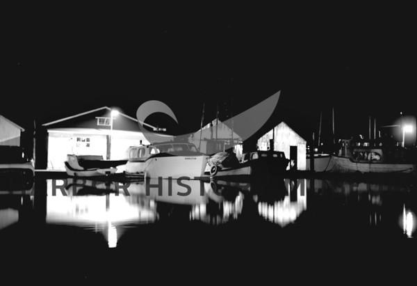 Night Scene at Pen Yacht Basin