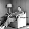 Herb Shuey at his home