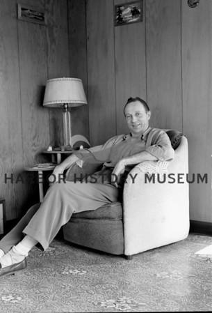 Herb Shuey at home
