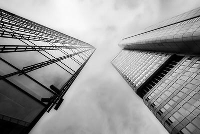 Skyper and Silver Tower in Frankfurt