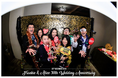 Frankie & Alice 30th Wedding Anniversary | © www.SRSLYPhotobooth.sg