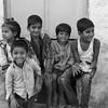 Smiles of Pushkar (B&W)