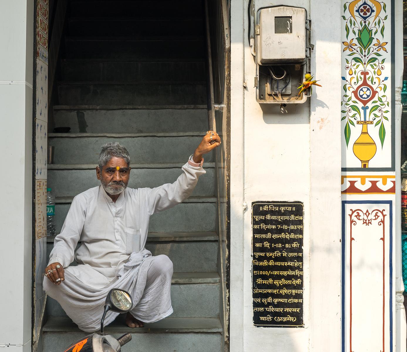 Vibrant people of Pushkar India