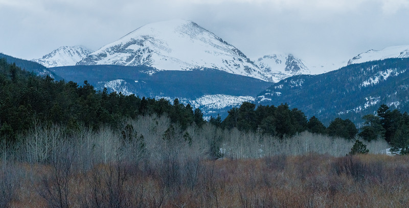 Long Peak in Estes Park, Colorado