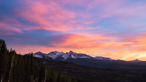 Cotton Candy Telluride Sky