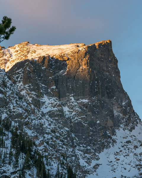 Bold Mountain Sculpted By Winters | Rocky Mountain Landscape Photography