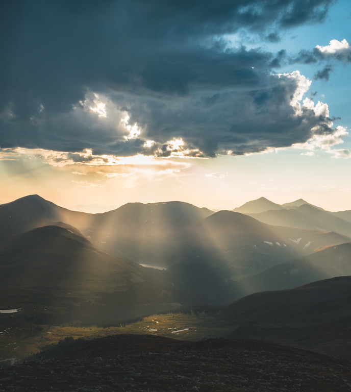 Majestic Skies | Rocky Mountain Landscapes Mount Evans Summit