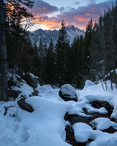 Good Morning Nature | Rocky Mountain Landscapes Dream Lake Peaks