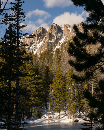 Mountain Peaks | Rocky Mountain Landscapes Dream Lake