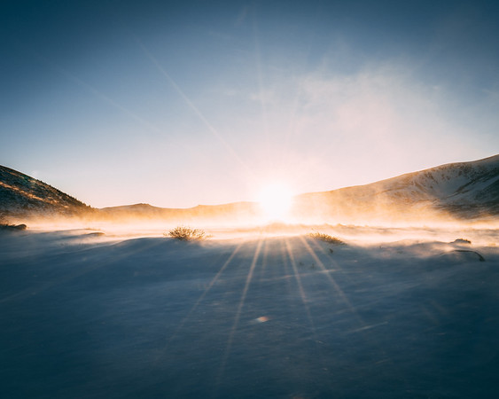 Frankieboy Photography |  Warm Sunlight | Rocky Mountain Landscapes Guanella Pass