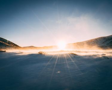 Warm Sunlight   Rocky Mountain Landscapes Guanella Pass