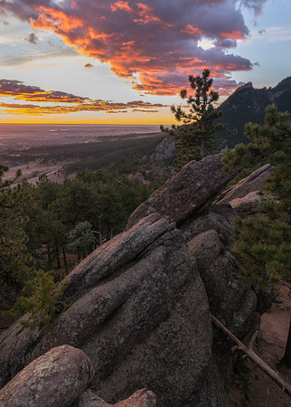 Cotton Candy Skies | Boulder Colorado Landscapes