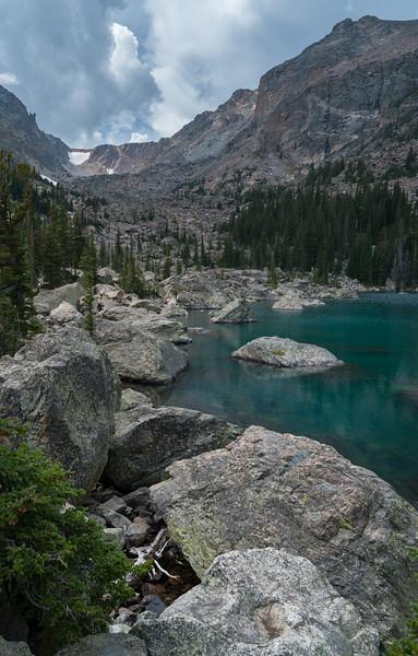 Lake Haiyaha, Rocky Mountain National Park