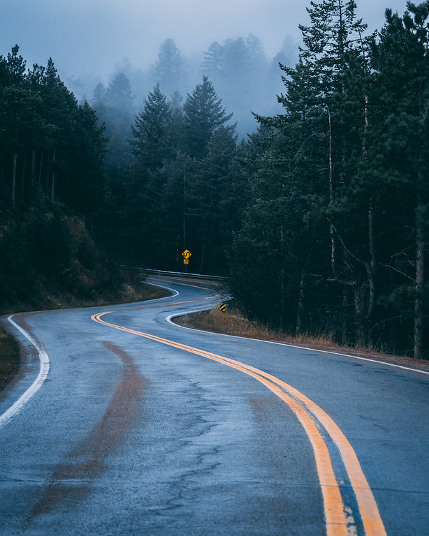 Ominous Road | Travel Photography Exploring Colorado