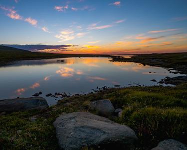Lake Reflection   Rocky Mountain Landscapes Mount Evans