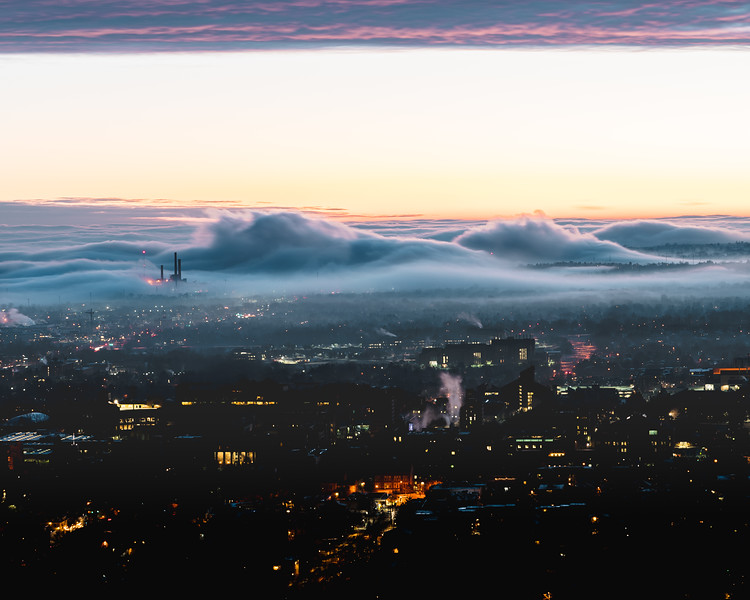 Frankieboy Photography | Boulder Cloud Inversion