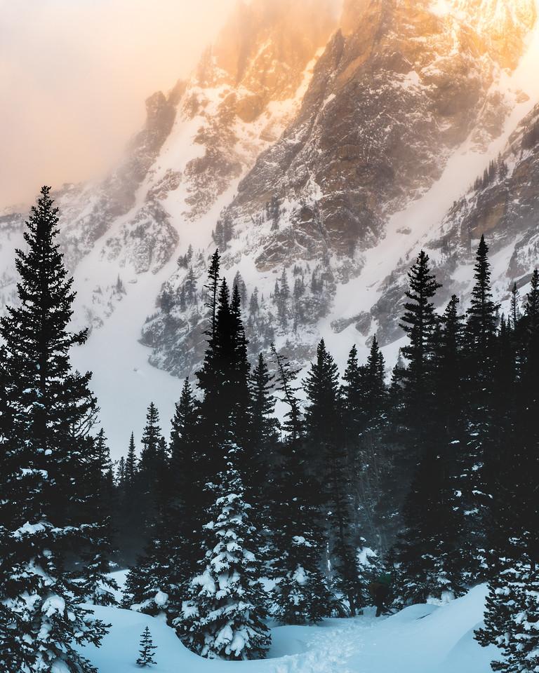 Sunrise bliss: Dream Lake, Rocky Mountain National Park