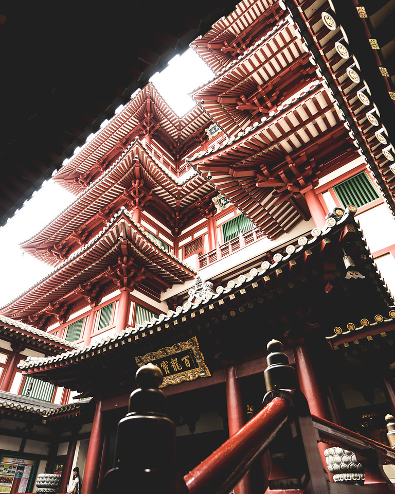 Buddha Tooth Relic Temple | Travel Photography Explore Singapore