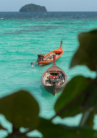 Frankieboy Photography |  Local Rustic Boats | Travel Photography Exploring Thailand