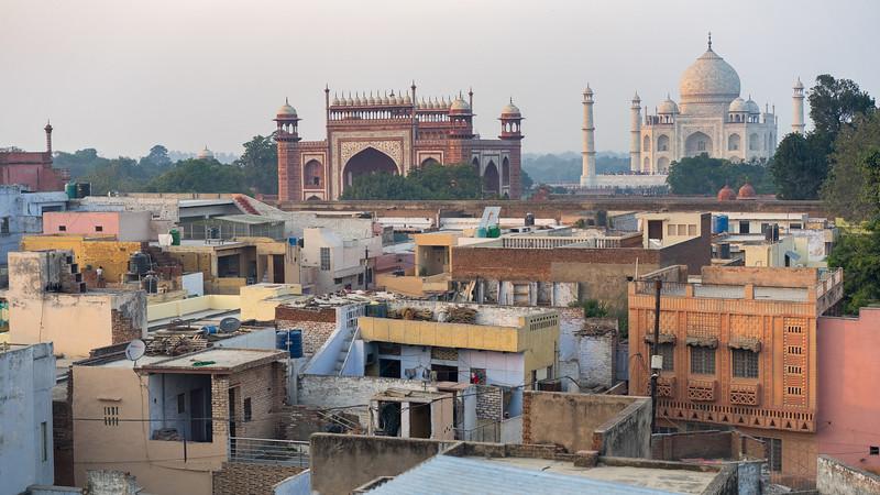 The Taj Mahal Sunset