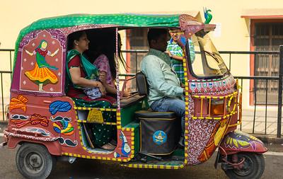 Tuks-Tuks in Jaipur