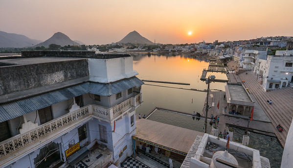 Holy Lake, Pushkar, India