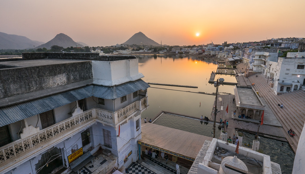 Holy Lake, Pushkar, India