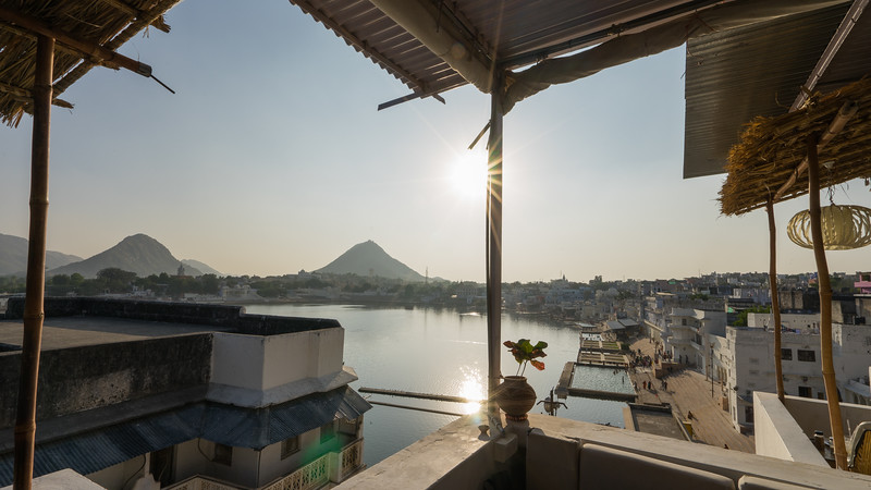 Frankieboy Photography |  Sunset Holy Lake, Pushkar India