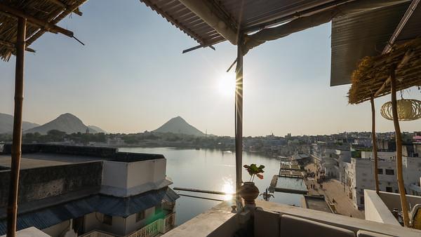 Frankieboy Photography |  Sunset Holy Lake, Pushkar India