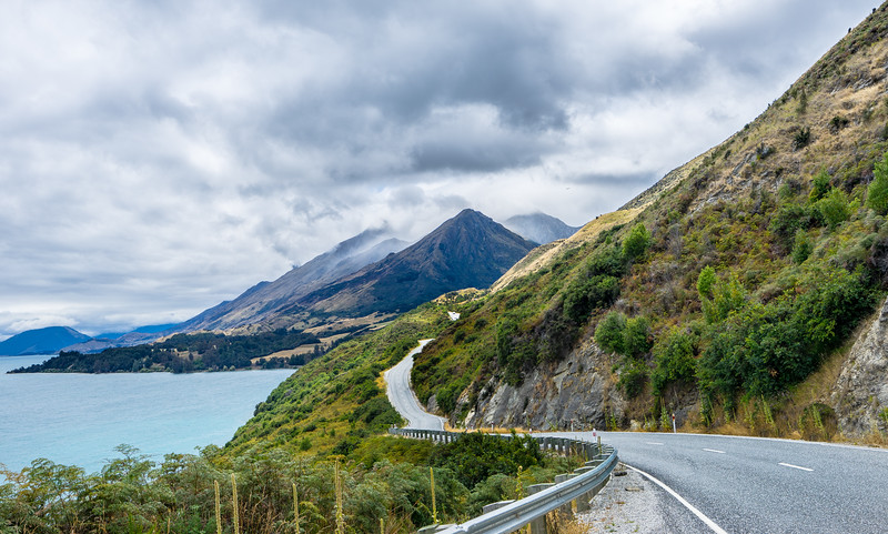 Winding New Zealand Drives