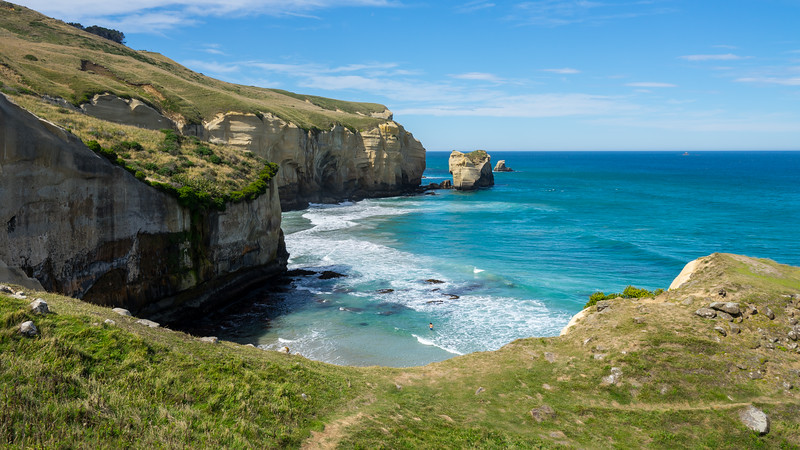Frankieboy Photography |  Tunnel Beach, Coasts of Dunedin, New Zealand