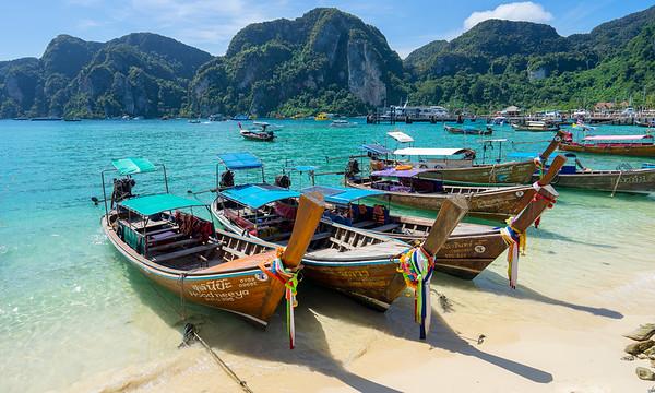 Island Hopping, Koh Phi Phi, Thailand