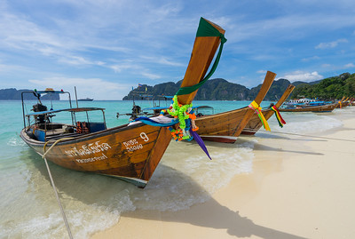Frankieboy Photography |  Long Tails, Koh Phi Phi Thailand