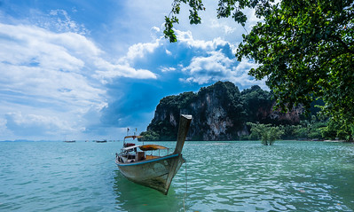 Taxi boats, Railay Beach