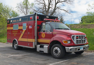 Box 15 Rehab #1 Former Madison Twp FD M-181 2000 Horton Ford F-650  aaa