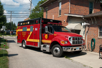 Box 15 Rehab #1 Former Madison Twp FD M-181 2000 Horton Ford F-650  aa