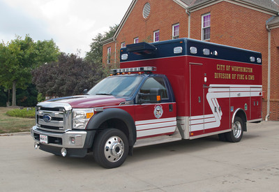Worthington Division of Fire M-101 Horton 2013 Horton Ford F-550 a