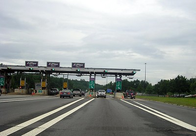 When I come to this part of the country I have to get used to toll booths again.