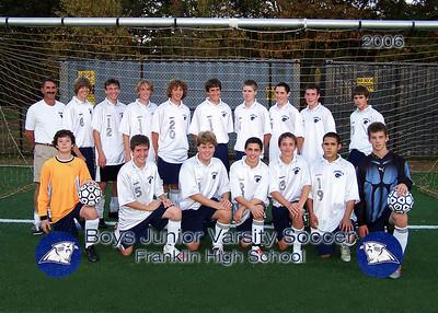 FHS Boys Junior Varsity Soccer 2006