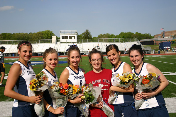 v. Foxboro - Senior Night