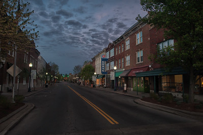 Franklin at Dawn