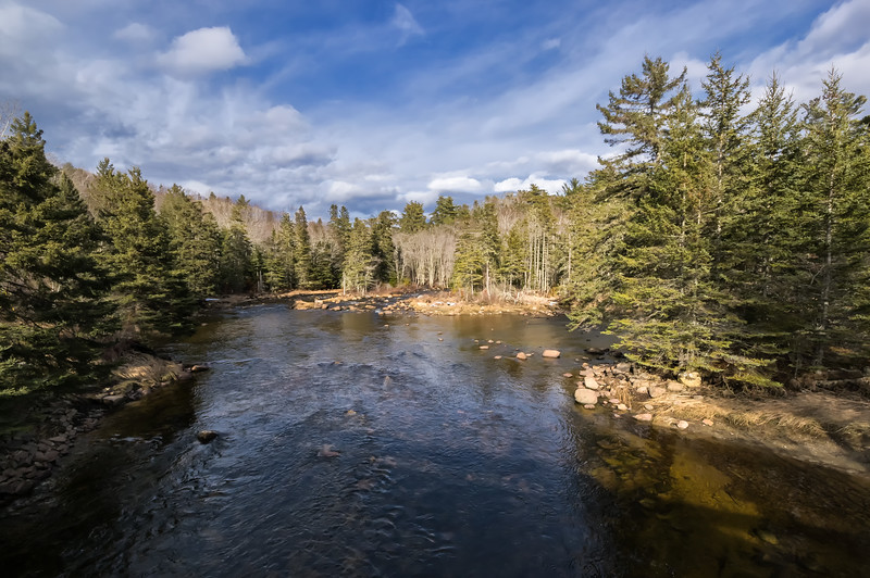 Card Mill Stream - East Franklin, ME  2-24-18