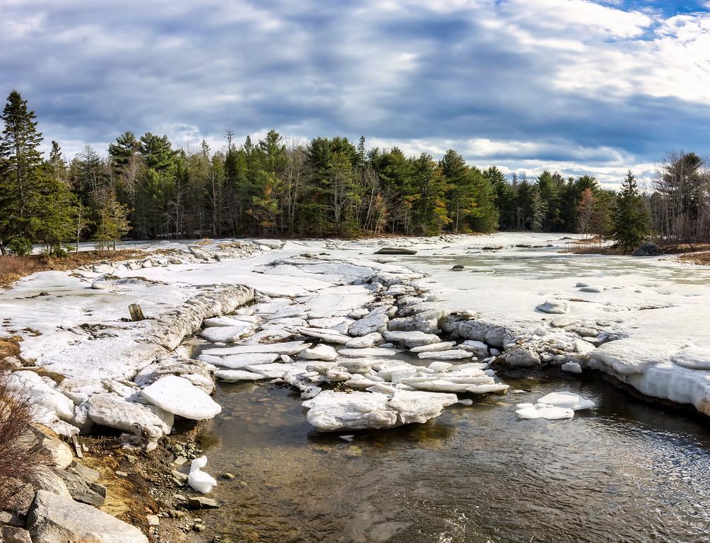 Springer Creek - West Franklin, ME 2-24-18