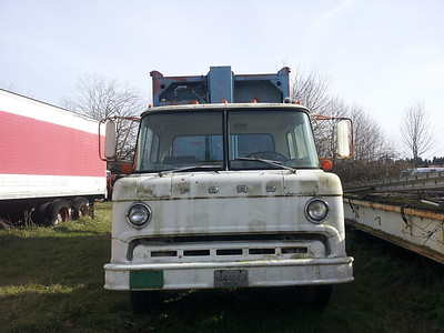 Front shot of Ford C-Series Cab