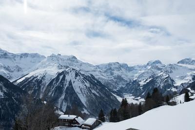 Aussicht auf Tödi und Linthgletscher