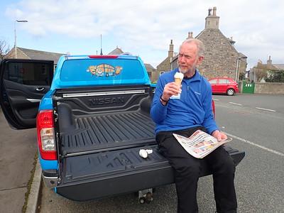 Brian Burnie at Portsoy