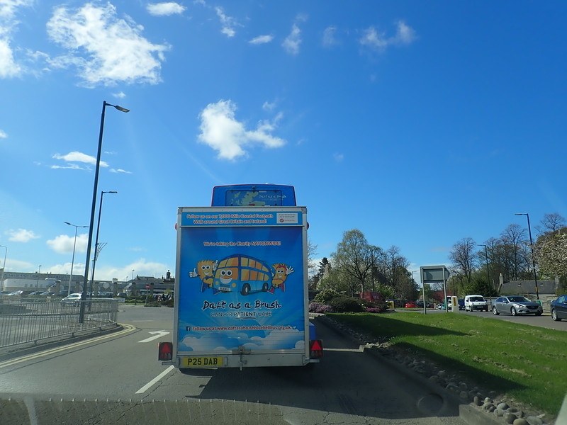 Bluebell Bus on the road!