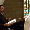 Making his perpetual profession
