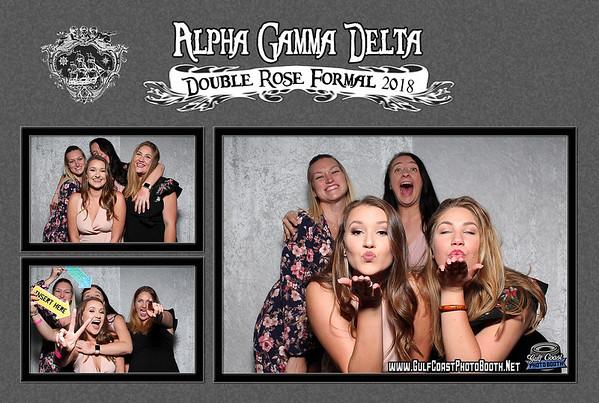 Alpha Gamma Delta Double Rose Formal 2018